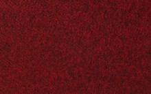 Needle felt carpet, red