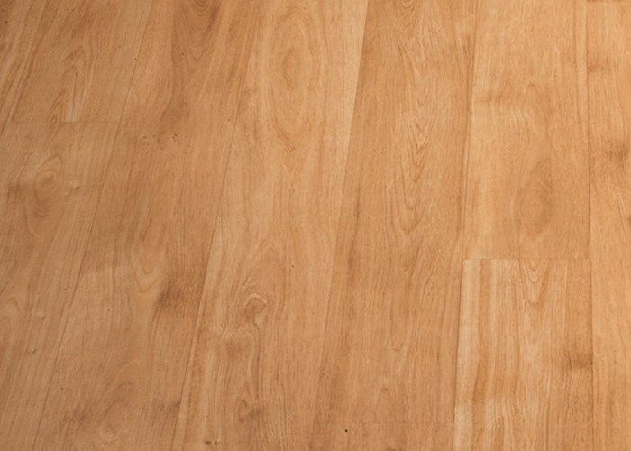 Vinyl flooring, oak plank look