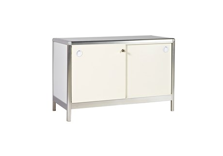 Locker, white, H: 65 W: 98.5 D: 46.5 cm